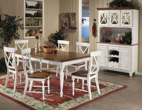 Or Could Even Paint The Rectangle One White*** Dining Sun Porch Inspiration White Dining Room Table Set Inspiration Design