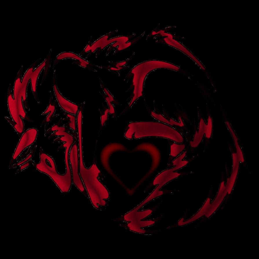 Fox Heart By Quantumfart On Deviantart Wolf Art Tribal Wolf Wolf Tattoo Design
