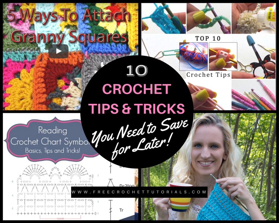 Knitting Tips And Tricks For Beginners : Crochet tips tricks you need to save for later