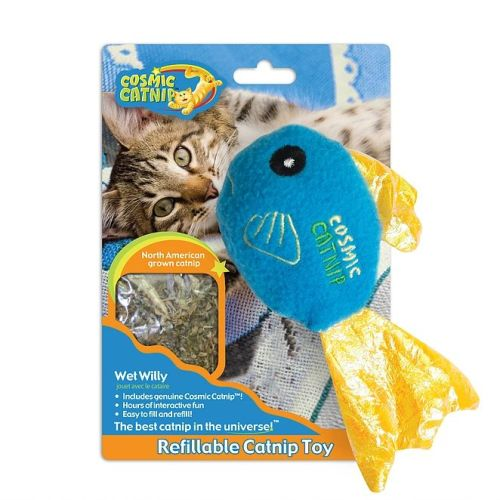 Cosmic Catnip Refillable Fish Cat Toy Fish Cat Toy Catnip Toys Catnip Cat Toy