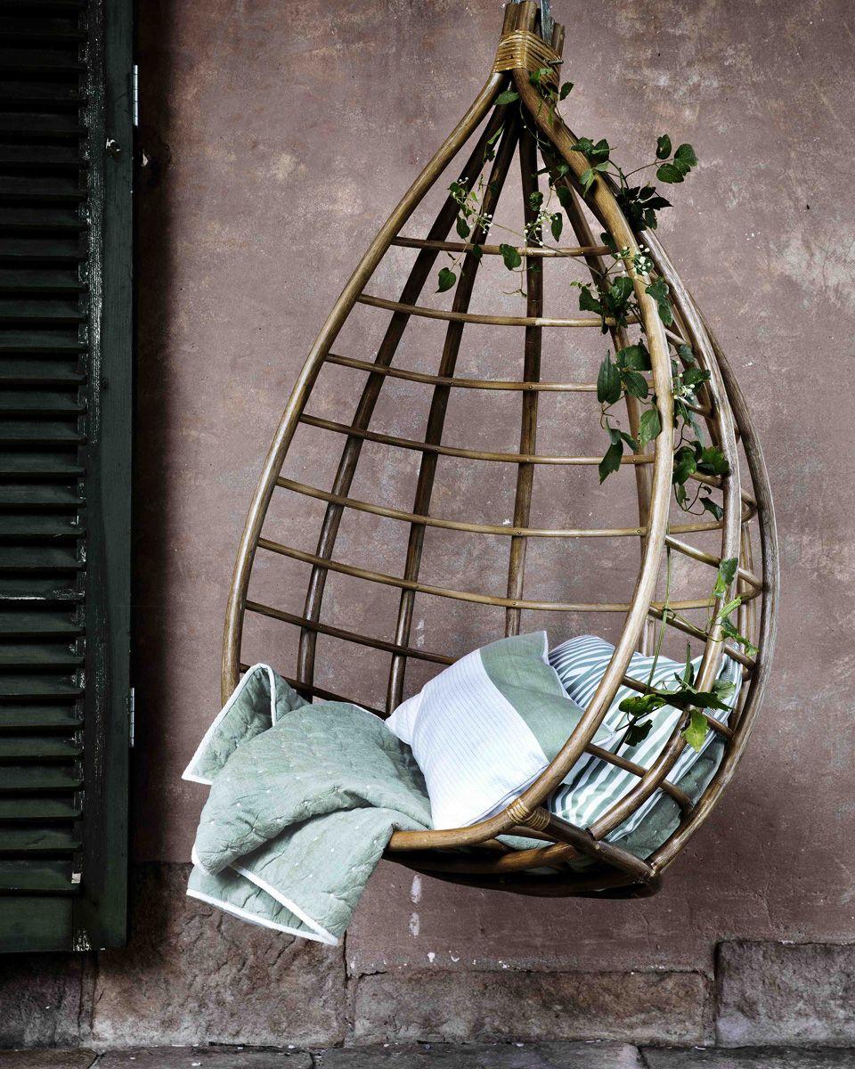 15 id es d co pour cr er un coin d tente dans votre jardin iddko hanging chair decor et home. Black Bedroom Furniture Sets. Home Design Ideas