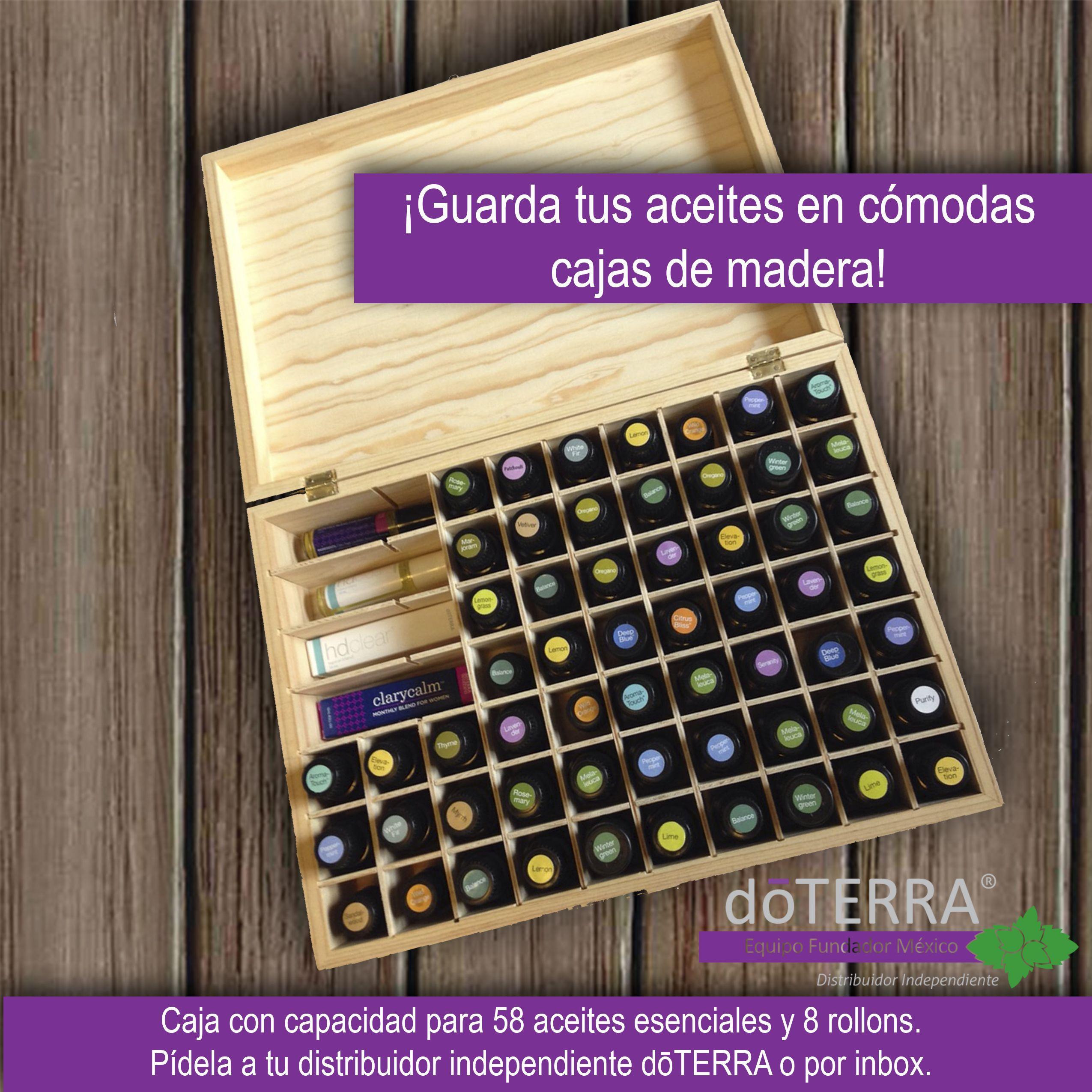 Cajas de madera para guardar aceites esenciales - Cajas de madera ...