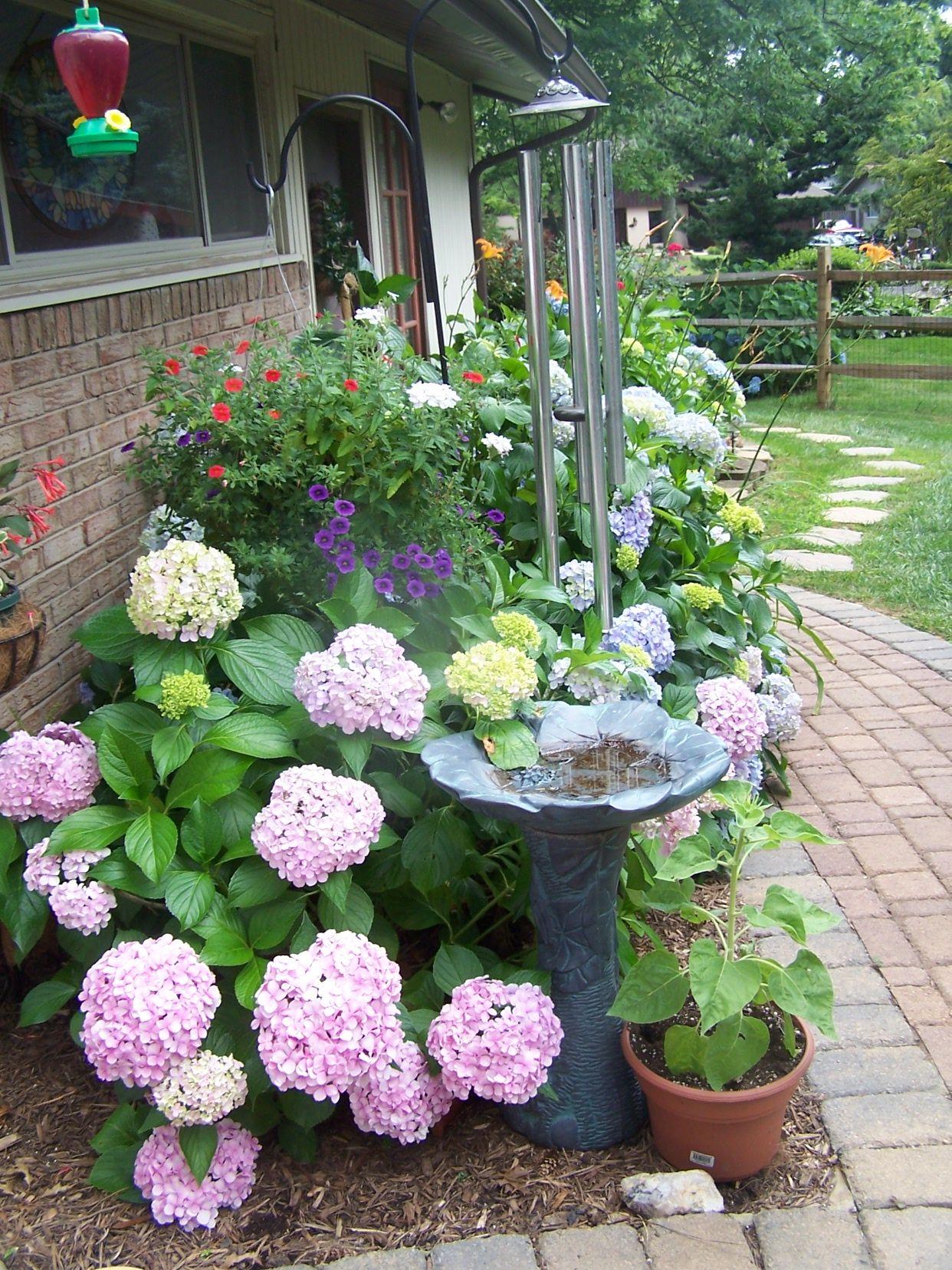 bird bath in the sideyard perfect patios u0026 outdoor spaces