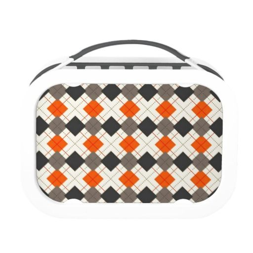 Argyle Barbecue Lunchbox