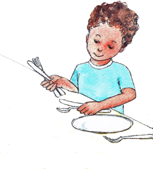 Hints And Tips Ideas On How To Inspire Your Children To Help Out With Chores Mettre La Table