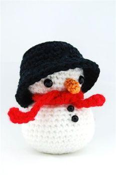 Gratis Haakpatroon Sneeuwpop Echtstudio Free Crochet Patterns