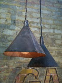 beachbungalow8: a light from old funnels
