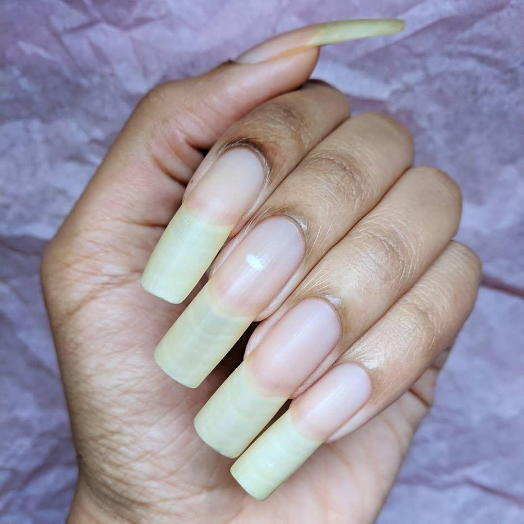 Pin By Hands By Hairitage On From Hairitage93 Long Natural Nails Nails Natural Nails
