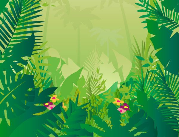 Jungle background clipart kid 5 | Clip Art | Pinterest | Trees ...
