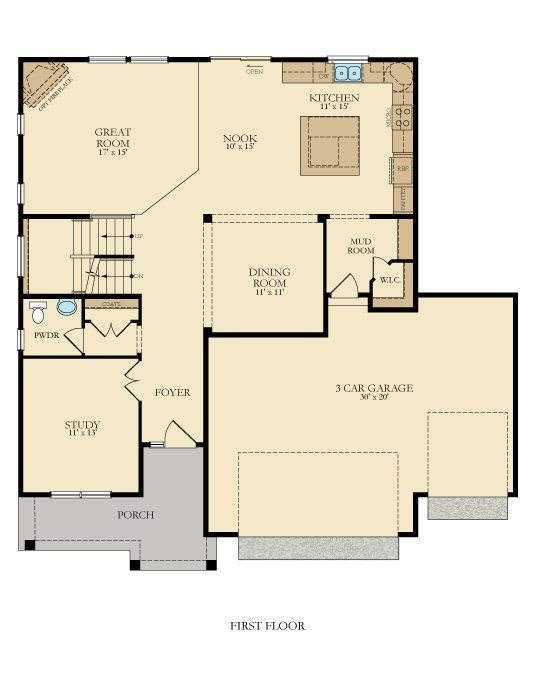 Wabasha New Home Plan In Savona Savona Landmark Collection New House Plans New Home Communities House Floor Plans