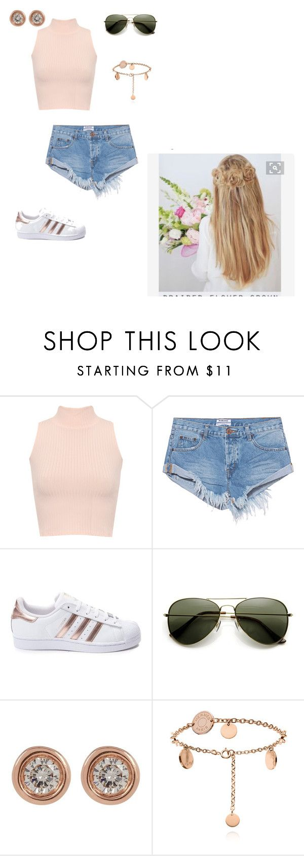 """""""2017"""" by dragonflydessa ❤ liked on Polyvore featuring WearAll, OneTeaspoon, adidas and Ron Hami"""
