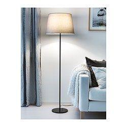 Standleuchtenfuss Rodd Schwarz Wohnzimmer Ikea Floor Lamp Base