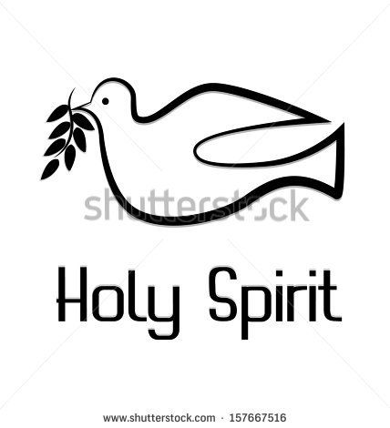 Symbols Of The Holy Spirit Holy Spirit Logo Vector Of Holy Spirit