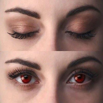 <3 bella opens her eyes as a vampire!!! <3