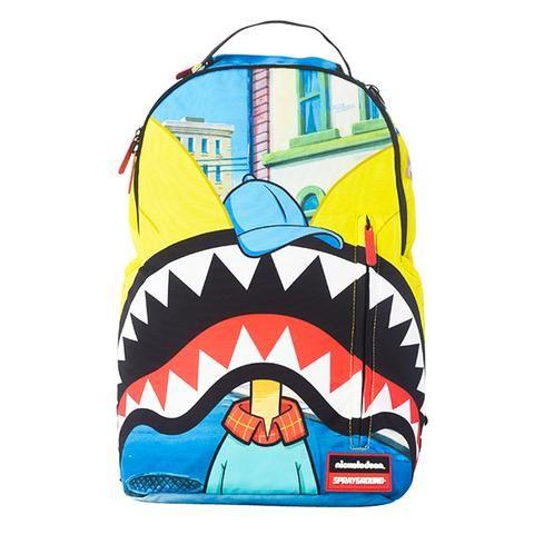 Sprayground Hey Arnold Shark Backpack Backpacks