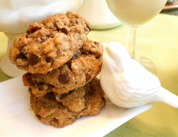 Vegan Gluten-Free Chocolate Chip Cookies Recipe - Go Dairy Free