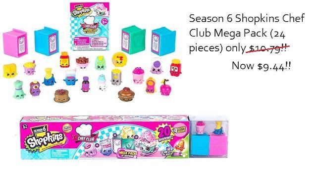 Shopkins Season 6 Mega 24 pack now only $9.44~~~>https://goo.gl/KUdiLp