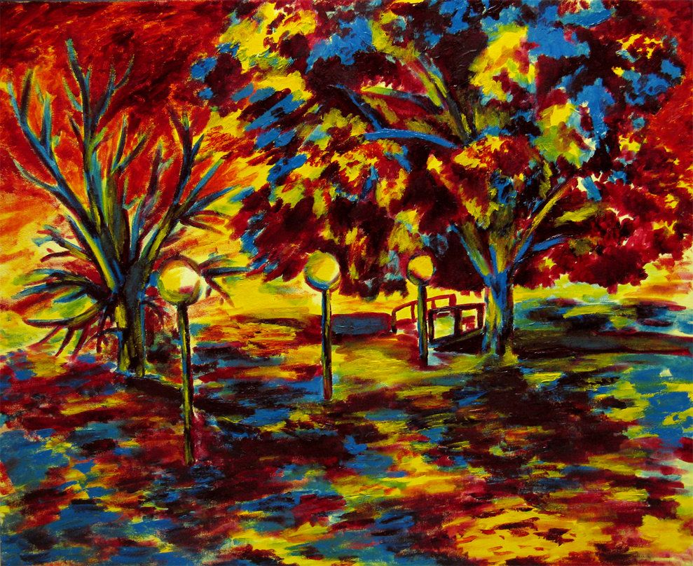 Fauvism Landscape Paintings