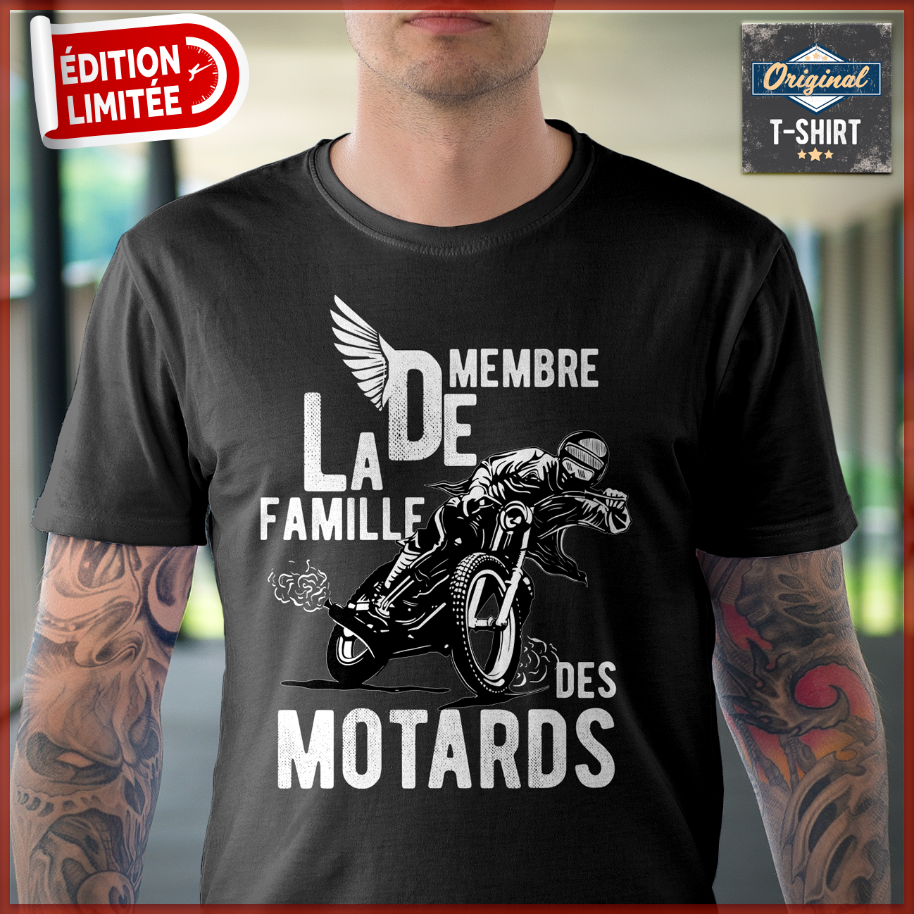 Homme JPeux Pas Jai Motocross Cadeau Motard Fan de Moto Cross T-Shirt