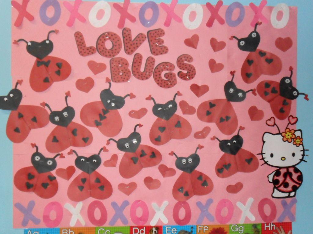 Love Bugs February Bulletin Board