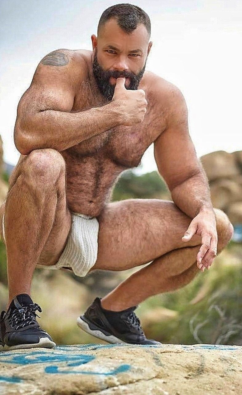 Gay mature hairy men