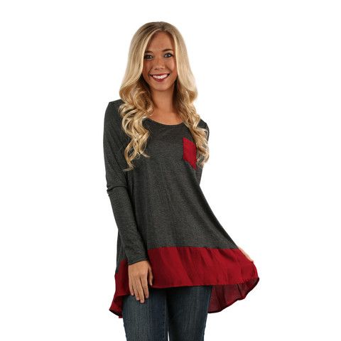 Wine & Dine Top | Impressions Online Women's Clothing Boutique