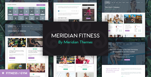 Nulled] Meridian Fitness Fitness/Gym WordPress Theme | free premiem ...