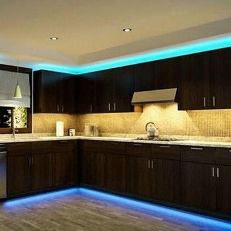 35 Wonderful Led Decorating Lights Ideas Kitchen Led Lighting Strip Lighting Led Strip Lighting