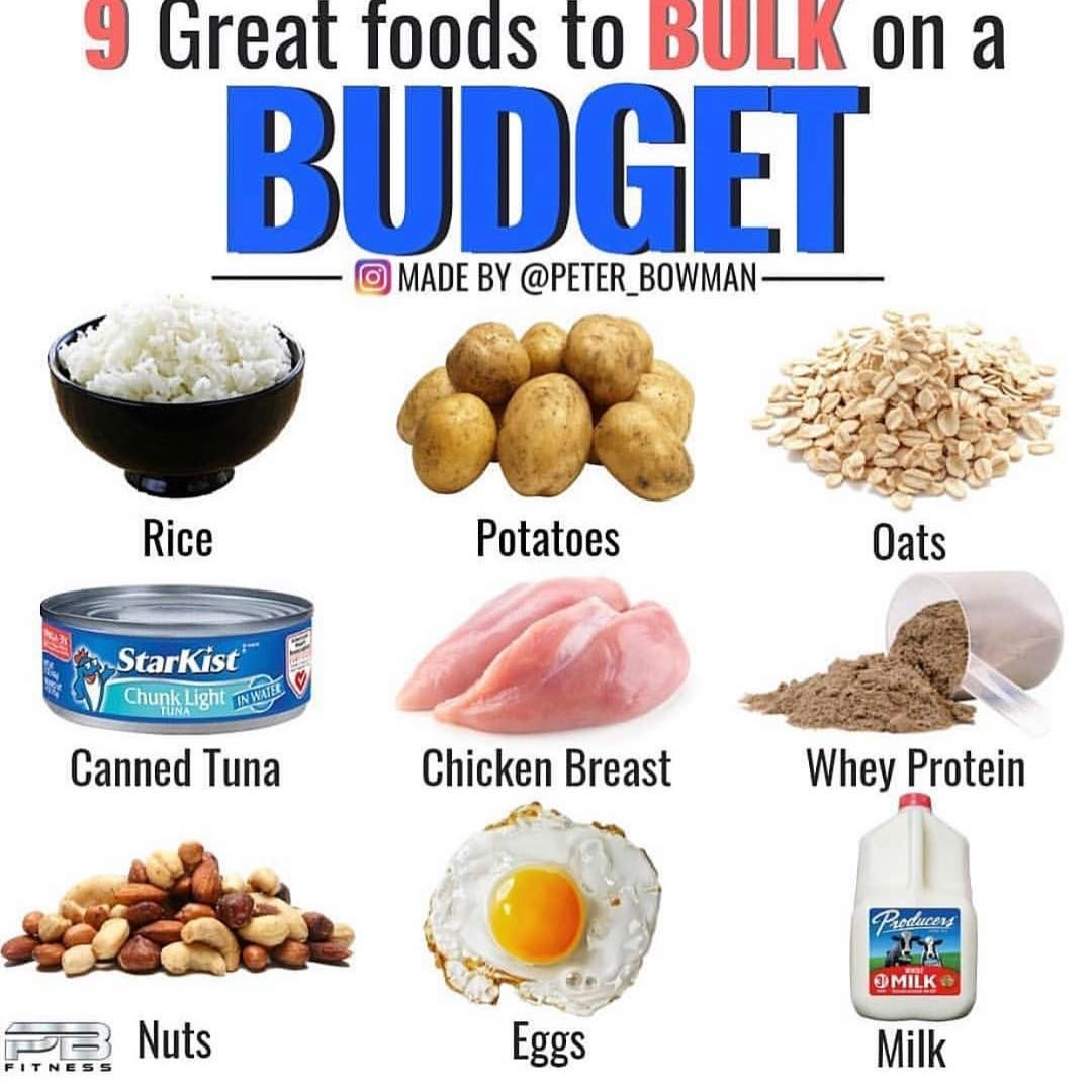 How to Build Muscle On a Budget Top 7 Cheap Sources of