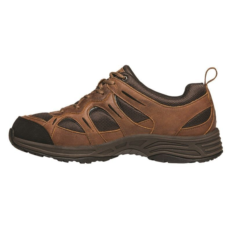 Propet Mens Connelly Strap MediumXWideXXWide Walking Shoes Brown