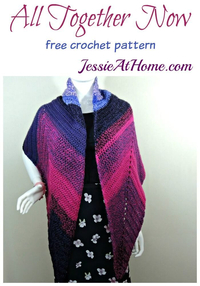 All Together Now free crochet pattern by Jessie At Home | crochett ...