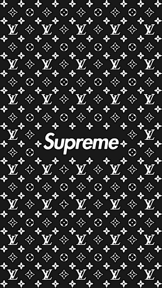 supreme×lv wallpaper HD quality Supreme iphone wallpaper