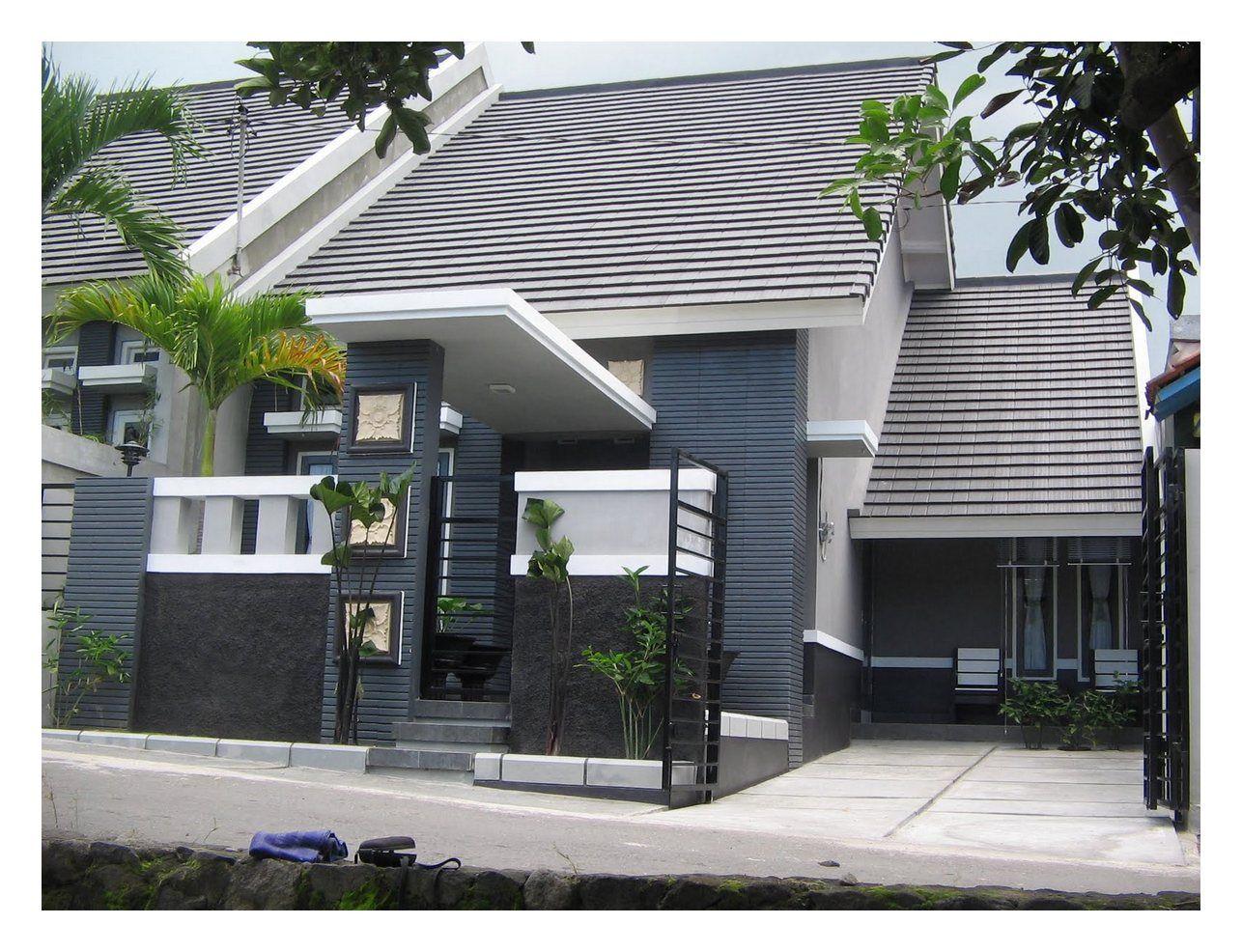 Model Rumah Sederhana Tapi Kelihatan Mewah 1 Lantai