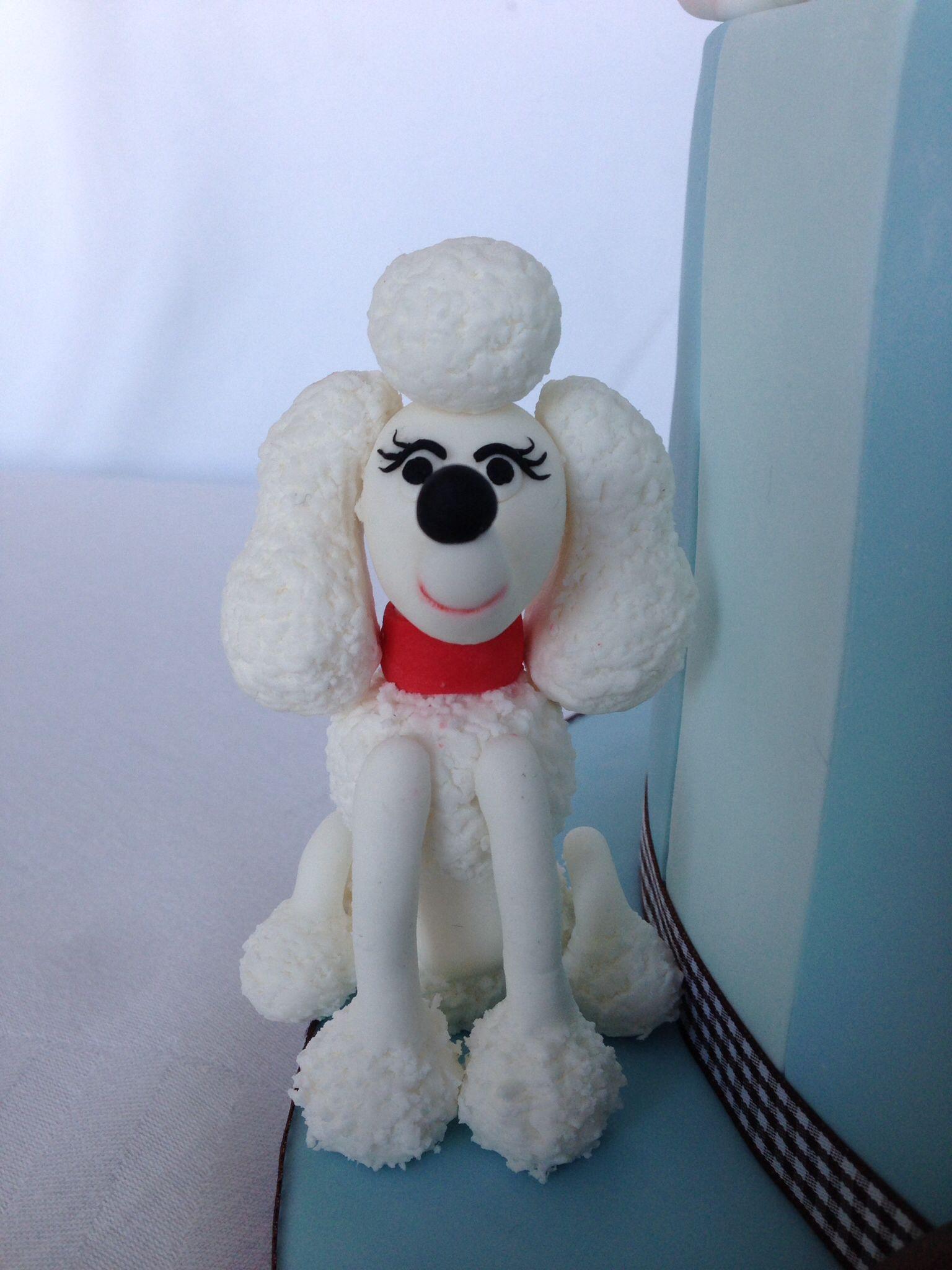 Fondant Dog Cakes Amp Cupcakes Filhotes De Cachorro