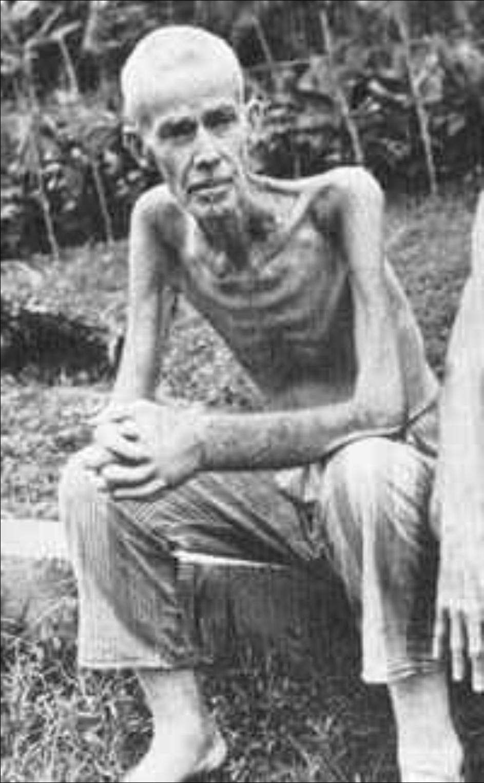 Pows Changi Prisoners In Changi Jail Singapore In World War 2