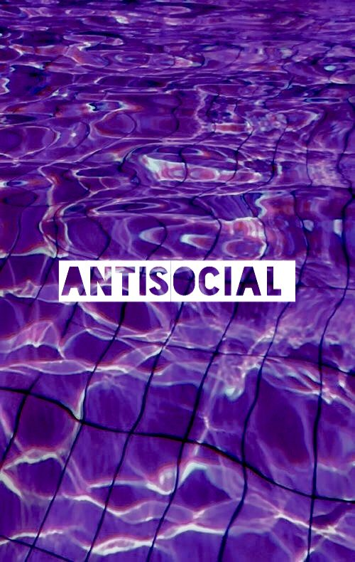 Holographic wallpaper, purple wallpaper, tumblr wallpaper, antisocial  WALLPAPER ˋMy editsˊ in