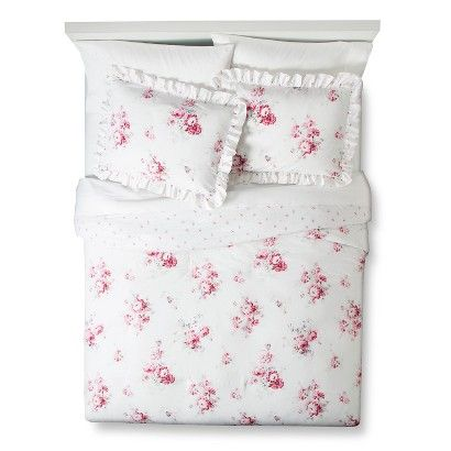 Simply Shabby Chic Sunbleached Floral Comforter Set Room Goals