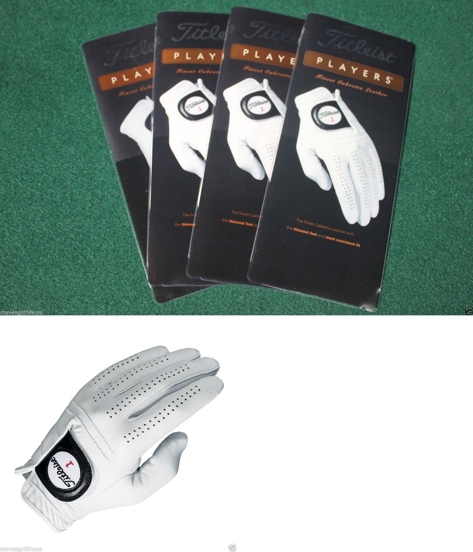Mens gloves cadet - Golf Gloves 181135 4 New 2016 Titleist Players Golf Gloves Mens Cadet Medium W
