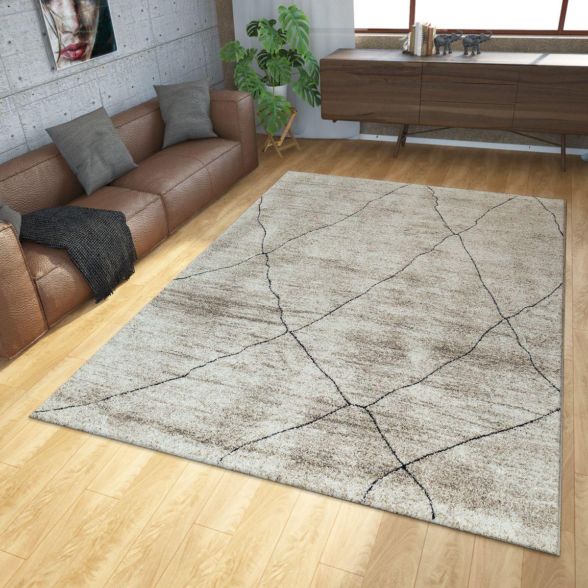 Teppich Modern Ethno Beige Creme (mit Bildern) Teppich