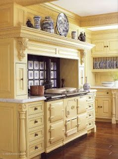 Aga Stove (Old world oven) in a soft yellow kitchen with ... on retro kitchen ideas, antique kitchen painting, antique luxury kitchens, antique kitchen design, antique kitchen cabinets, antique kitchen cupboards, antique kitchen decor, antique kitchen lighting, antique wallpaper ideas, antique kitchen fireplaces, rooster kitchen theme ideas, old kitchen ideas, antique door ideas pinterest, vintage kitchen ideas, antique vintage kitchen, antique kitchen tools ideas, antique kitchen cleaning, painted kitchen cabinet ideas, antique kitchen remodeling ideas, antique kitchen rugs,