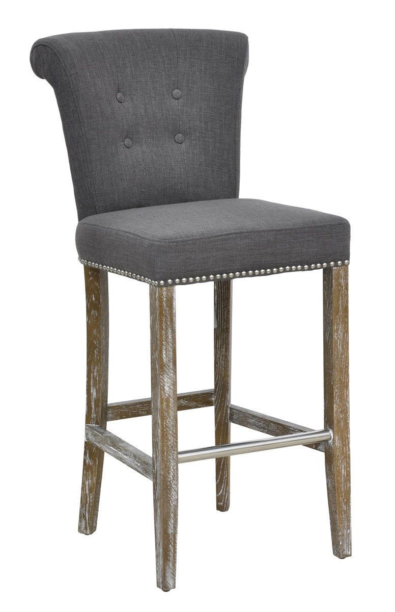 Vicente Upholstered Bar Stool 53005112 Dining Chairs