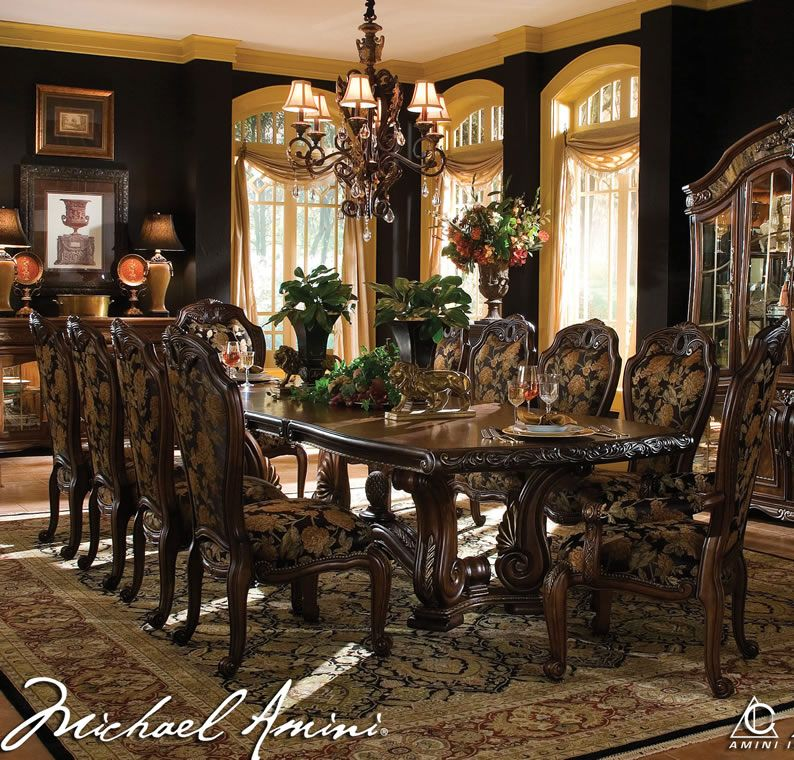 Formal Dining Room Sets, Aico Dining Room Chairs