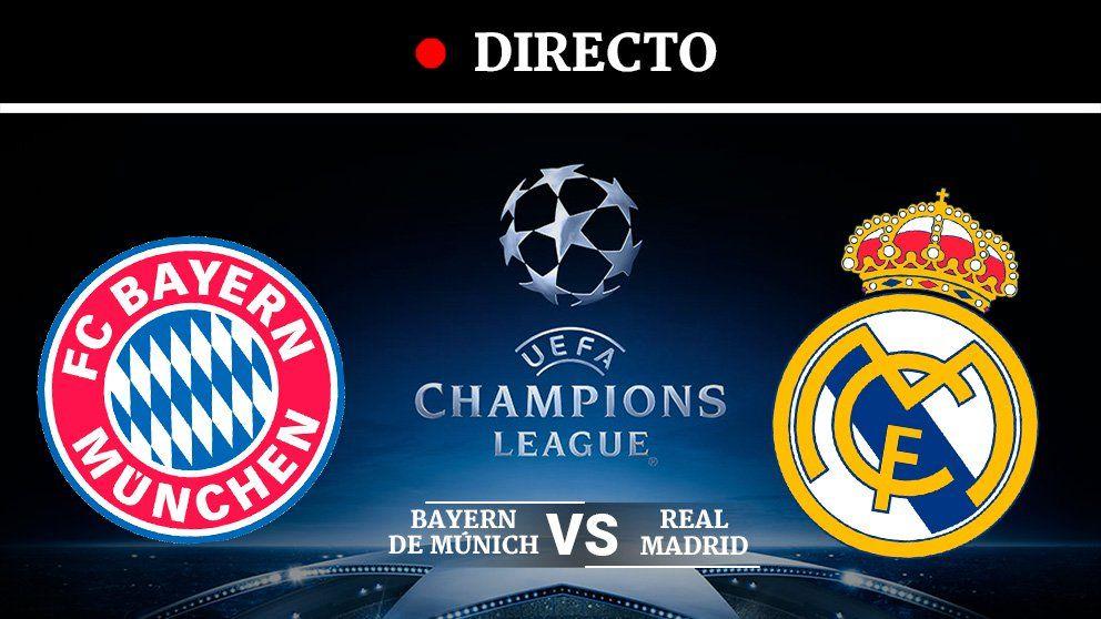 Bayern Real Madrid Última hora en directo Bayern