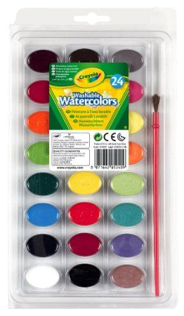 Crayola Washable Watercolors 24 Count 53 0524 Watercolor