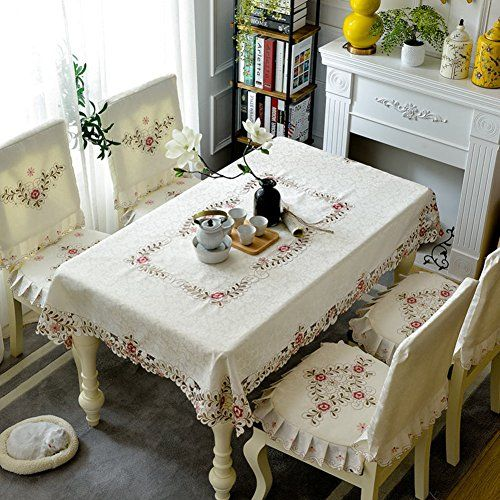 Decorative Lace Tablecloth Dining Room Living Room Dustproof Interesting Dining Room Tablecloths Design Inspiration