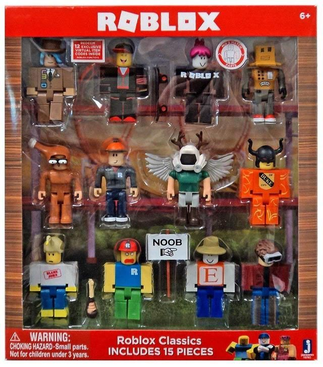 Roblox Series 1 Classics 12 Figure Pack Includes Builderman