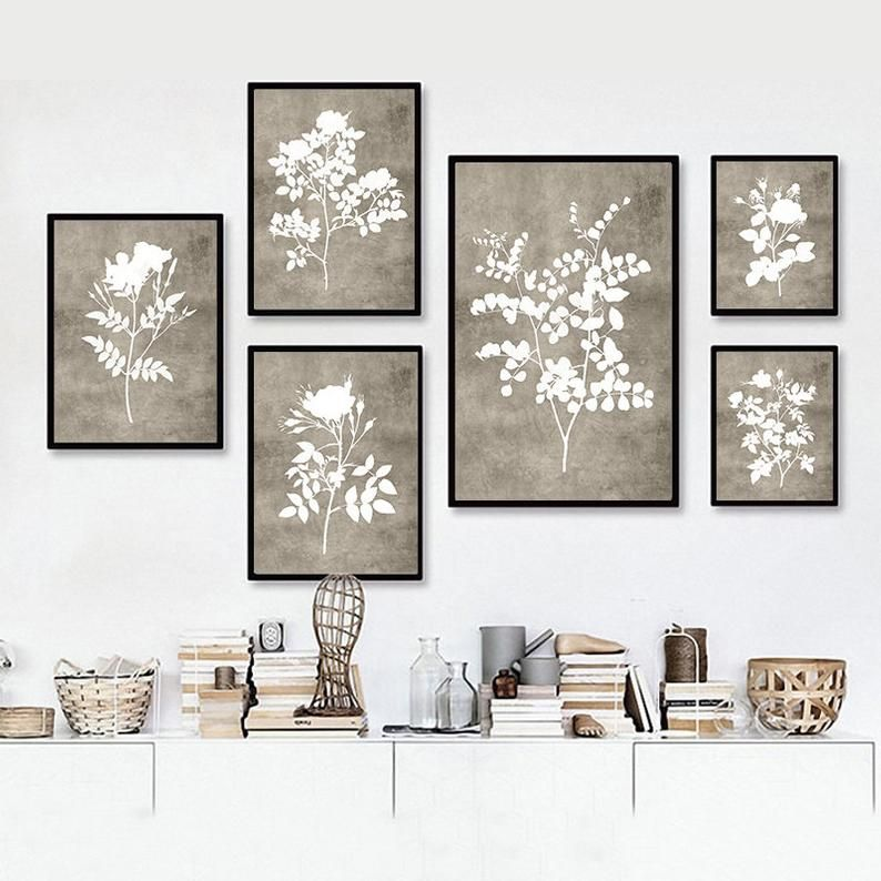 Farmhouse Wall Decor Kitchen Rustic Printable Art Floral Wall Art Vintage Living Room Wall Art Set Of 6 Prints Kitchen Wall Decor Farmhouse Gallery Wall Farmhouse Wall Decor