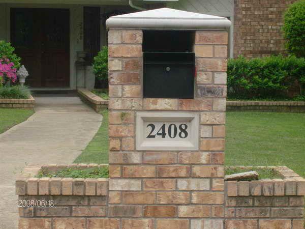 78 Best Images About Brick Mailbox Ideas On Pinterest | Mailbox