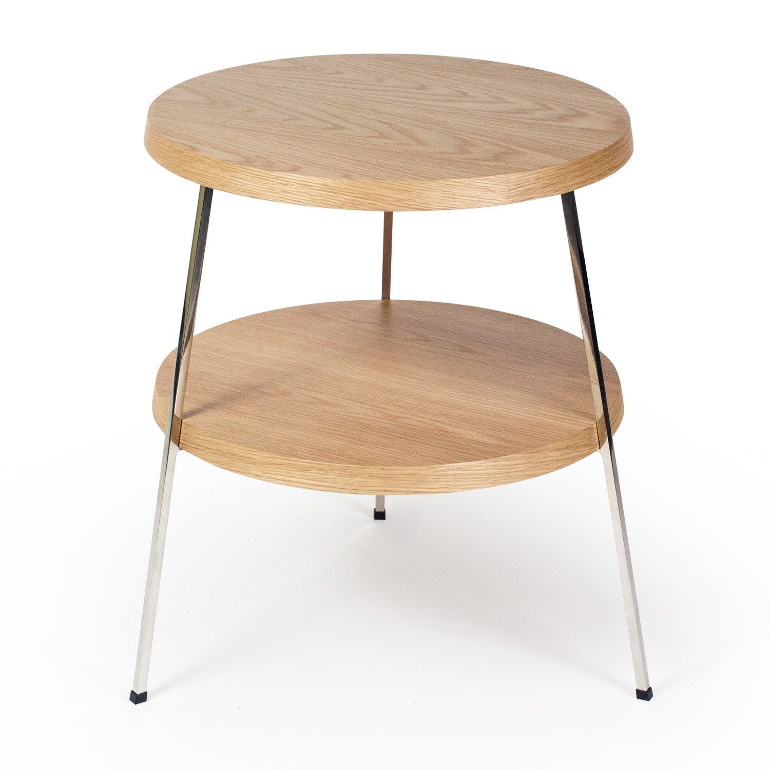 Plotinus 3 Legs End Table With Storage End Tables With Storage