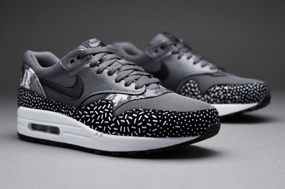 Women Nike Air Max 1 Print Grey